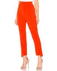 Elliatt - Harper Pant In Orange - Lyst