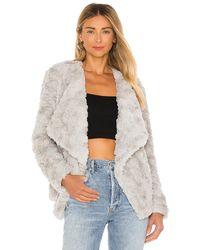 BB Dakota Куртка Come Cozy В Цвете Серо-серебряный - Серый
