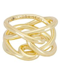 Kendra Scott Myles Band Ring - Metallic
