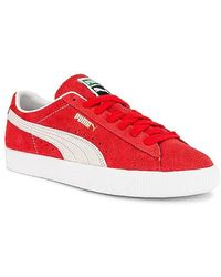 Puma Select Suede In Red. Size 10.5, 11, 11.5.