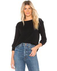 Enza Costa - Cashmere Thermal Sweatshirt - Lyst
