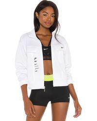 Nike Swoosh ジャケット - ホワイト