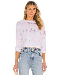 Michael Stars Mac Tシャツ In Lavender. Size S, M, L. - マルチカラー