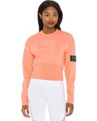 P.E Nation Sprint スウェットシャツ - オレンジ
