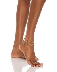 8 Other Reasons Vogue Anklet - Mettallic