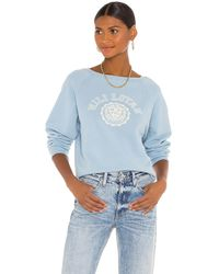 Nili Lotan Crest スウェットシャツ - ブルー