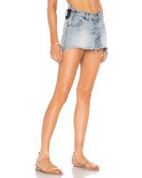 One Teaspoon - Junkyard Relaxed Mini Skirt - Lyst