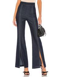 Lovers + Friends Racer Pant - Blau