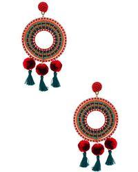 Nannacay - Rode Earrings - Lyst