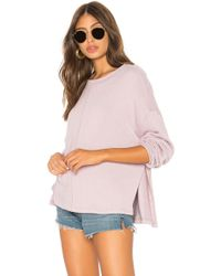 Free People - Be Good Terry Pullover - Lyst