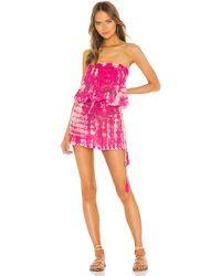 Tiare Hawaii Aina ストラップレスミニドレス - ピンク