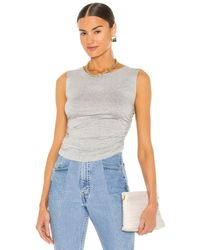 Norma Kamali - トップ In Grey. Size S, M, L, Xl. - Lyst