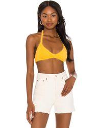 Frankie's Bikinis Топ-бралетт Boardwalk В Цвете Солнечный Свет - Многоцветный