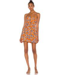 Parker Julie Dress - Orange