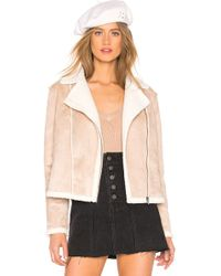 Cupcakes And Cashmere Bruntel Jacket - Natural