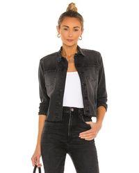 L'Agence Janelle Slim Jacket - Schwarz