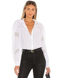 7 For All Mankind Camisa - Blanco