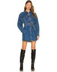 Marissa Webb Skylar ドレス - ブルー