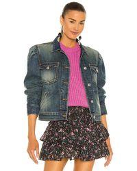 Étoile Isabel Marant Куртка Bolinea В Цвете Синий
