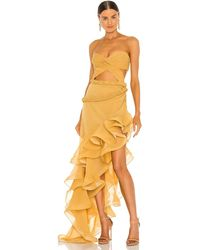 Bronx and Banco Jina Gown - Gelb