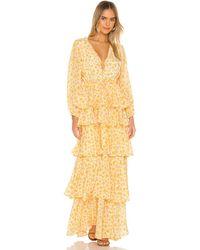 All Things Mochi Luz Dress - Yellow