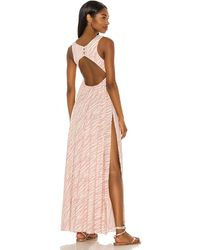 BOAMAR Yohey カバーアップドレス. Size M/l. - ピンク