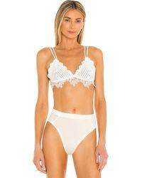 Free People Cora Crochet Bralette - White