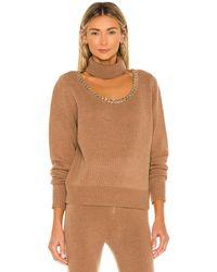 Divine Héritage セーター - ブラウン