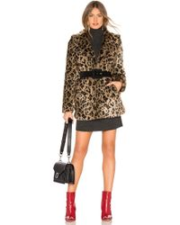 Lovers + Friends Mariana Faux Fur Coat