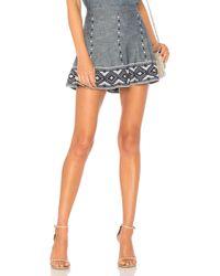 Parker - Neila Skirt In Blue - Lyst