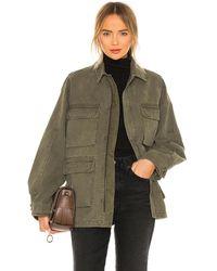 Anine Bing Куртка Joey В Цвете Зеленый