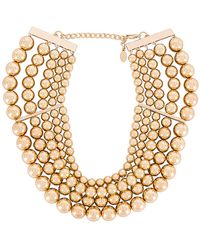 8 Other Reasons Amber Necklace - Mettallic