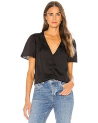 PAIGE Kelly top - Negro