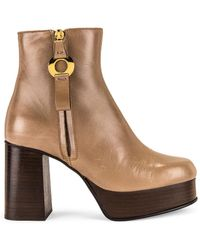 See By Chloé Giuly Platform Bootie - Brown