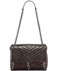 Rebecca Minkoff Edie Flap Shoulder Bag - Multicolour