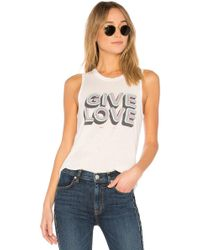 Spiritual Gangster | Give Love Muscle Tank | Lyst