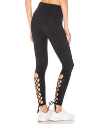 Onzie | Laced Up Legging | Lyst