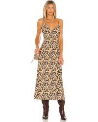 House of Harlow 1960 Leopard ドレス - ブラウン