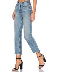GRLFRND - X Revolve Helena High-rise Straight Jean - Lyst