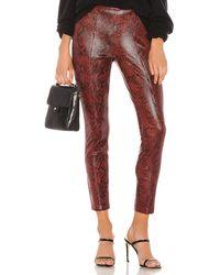 Blank NYC Vegan Leather Legging - Red