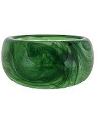 Shashi Кольцо On The Rocks В Цвете Оазис - Зеленый