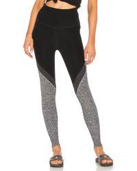 Beyond Yoga - Tri-panel Spacedye High Waisted Midi Legging - Lyst