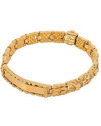 Vanessa Mooney The Golden Nugget Id Bracelet - Metallic