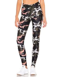 The Upside Camo 54 Yoga Pant - Schwarz