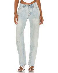 One Teaspoon Kansas blue smiths trouser jean - Azul
