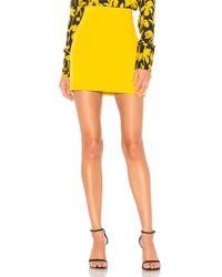 MILLY Minifalda cady modern en color amarillo