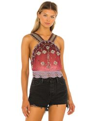Free People Hi There トップ - ピンク