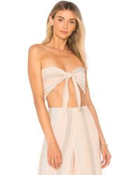 Beach Riot - Avery Top In Pink - Lyst