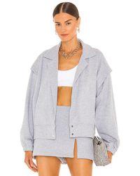 Amanda Uprichard Rebel Jacket - Gray