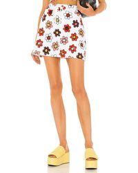 Miaou Tennis Skirt - Red